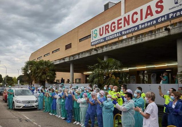 El  Hospital Nuestra Señora del Prado ya no tiene ningún paciente ingresado por coronavirus