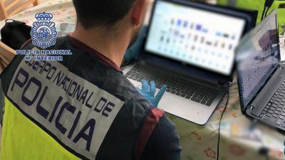 Detenidas 15 personas en 9 provincias, entre ellas Albacete, por poseer y distribuir pornografía infantil