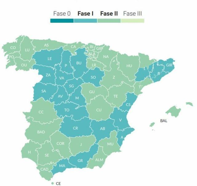 ÚLTIMA HORA | Cuenca y Guadalajara pasarán a fase 2