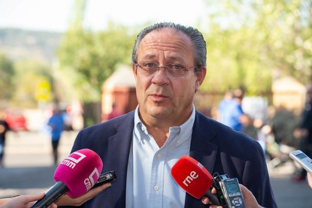 El consejero Ruiz Molina.