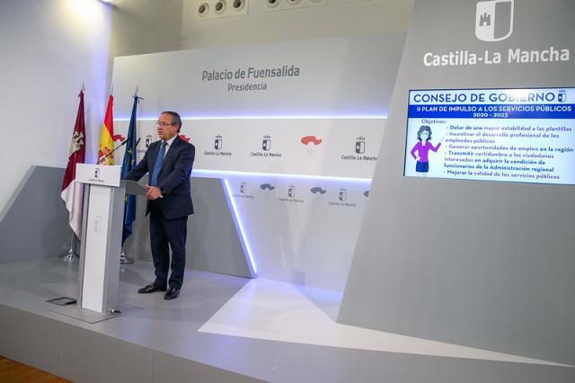 Castilla-La Mancha aprueba ofertar 6.000 nuevas plazas de empleo público