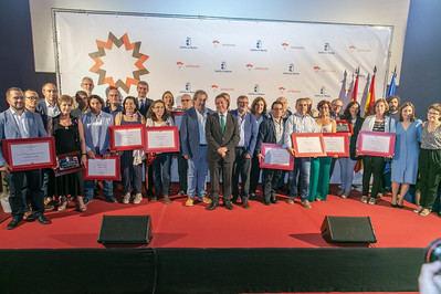 Placa al Mérito Artesano para los promotores de aTempora Talavera