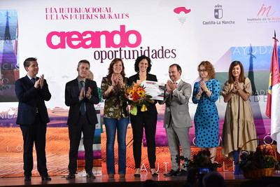 Estela Cuadrado, de Mejorada, reconocida por su contribución social y emprendedora en el medio rural
