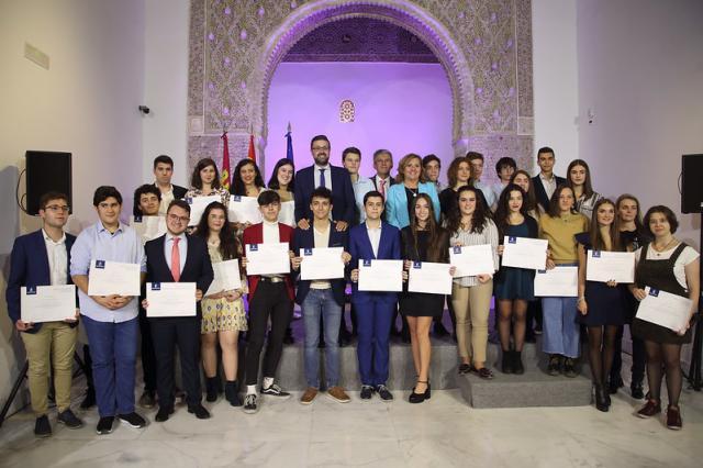 Protagonismo talaverano en los Premios Extraordinario de ESO, Bachillerato y Enseñanzas Artísticas (fotos)