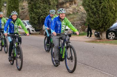García-Page participa en la marcha ciclista 'Moving for Climate Now'