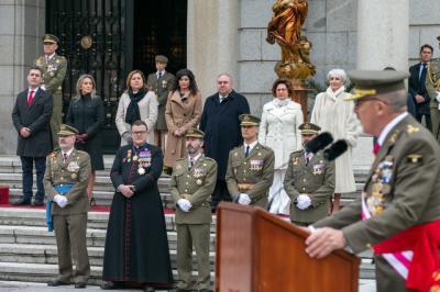 FOTOS | La Academia de Infantería de Toledo celebra este la festividad de su patrona