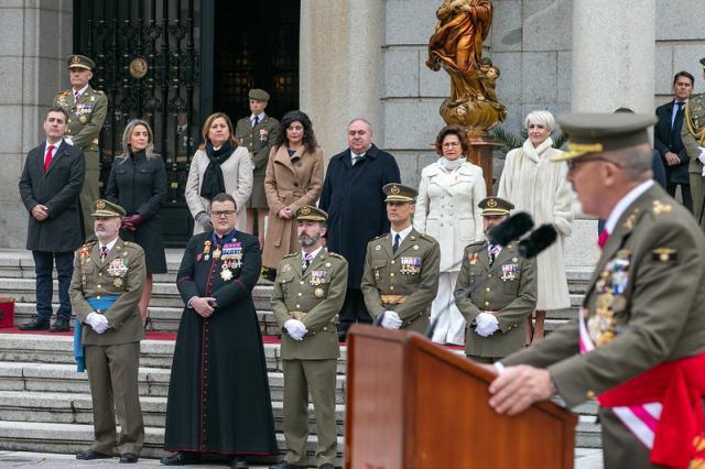 FOTOS   La Academia de Infantería de Toledo celebra este la festividad de su patrona