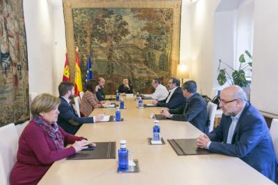 ÚLTIMA HORA   Reunión con miembros del gobierno para coordinar las medidas del decreto de estado de alarma