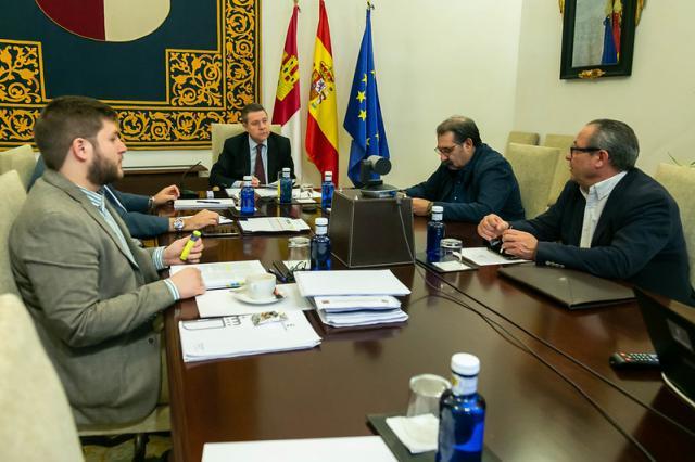 Imagen de la reunión de esta mañana