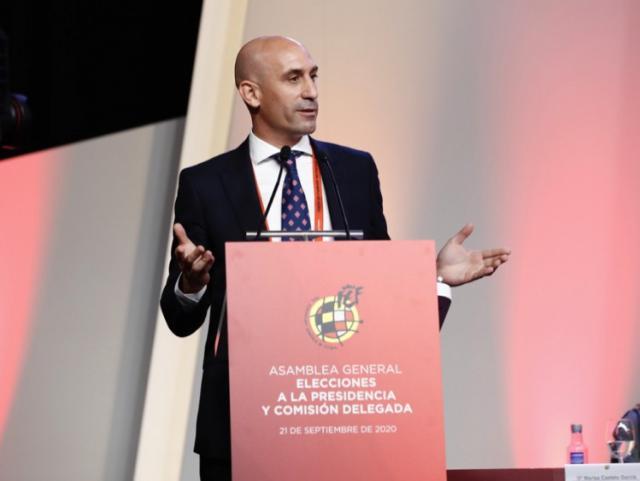 FÚTBOL | Rubiales, cuatro años más presidente de la RFEF