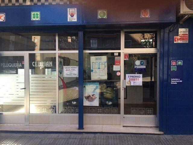 Administración que ha vendido tres décimos del quinto premio del número 58808, en Talavera de la Reina