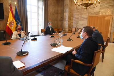 REGIÓN | Así ha sido la reunión entre Page y la ministra Ribera