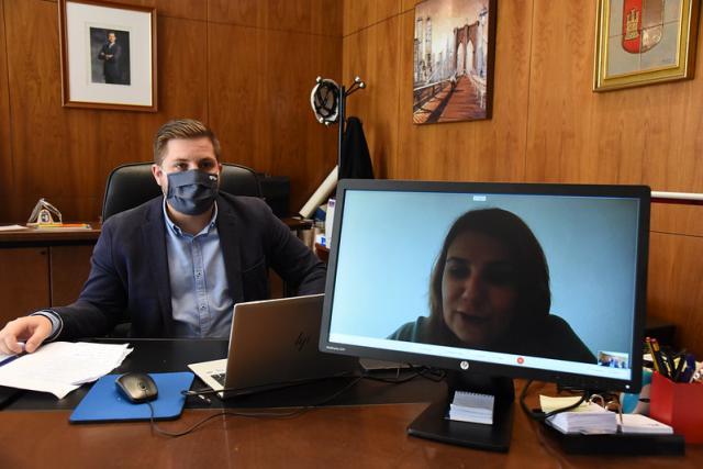 ACTUALIDAD | Encuentro telemático entre Nacho Hernando y Agustina García