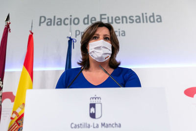 La consejera de Economía, Empresas y Empleo, Patricia Franco - JCCM