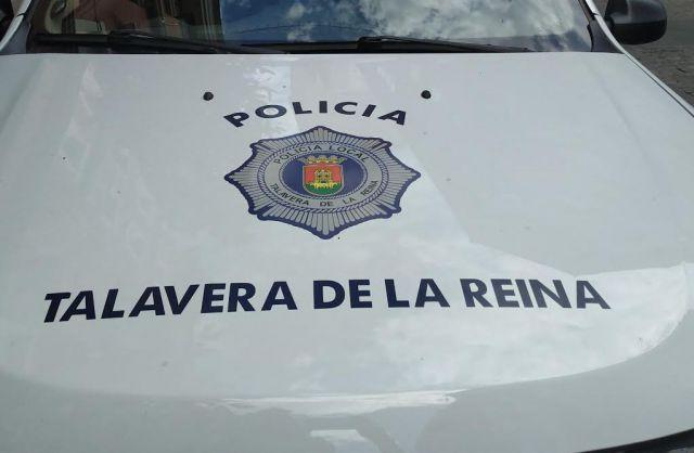 Coche de la Policía Local de Talavera