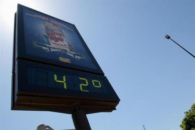 De nuevo comienza la semana con altas temperaturas en la región.