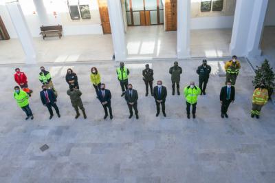 HOMENAJE | CLM da las gracias a los efectivos que trabajaron en el temporal 'Filomena':