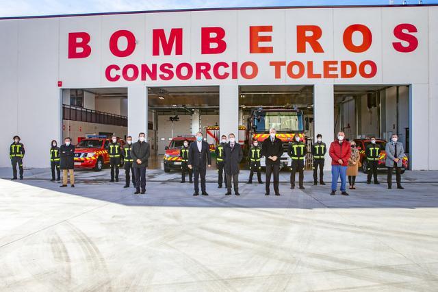 ORGAZ | El nuevo Parque de Bomberos dará cobertura a 22 pueblos de la provincia de Toledo