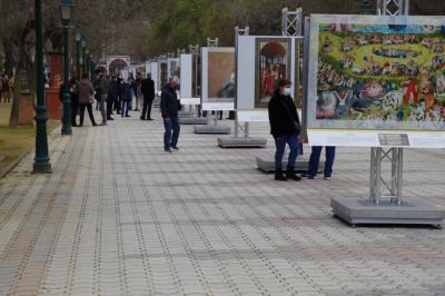 TALAVERA | Los Jardines del Prado se convierten en un museo al aire libre (fotos)