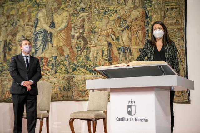 CLM   Bárbara García Torijano coge el testigo de Bienestar Social