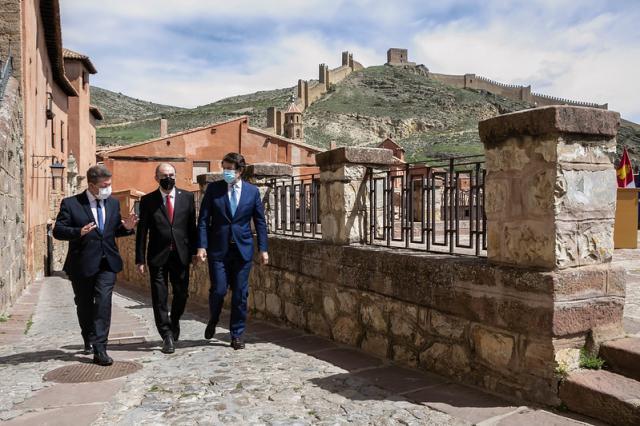 'Pacto de Albarracín' entre Aragón, Castilla y León y Castilla-La Mancha