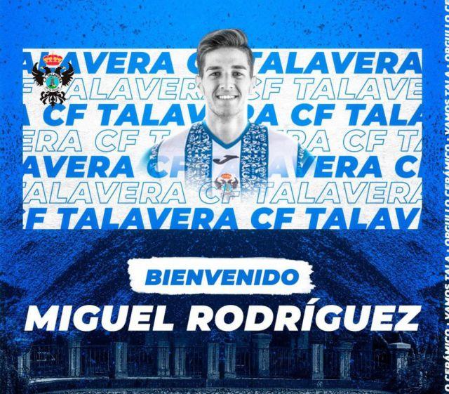 FÚTBOL | Miguel Rodríguez, nuevo fichaje del CF Talavera