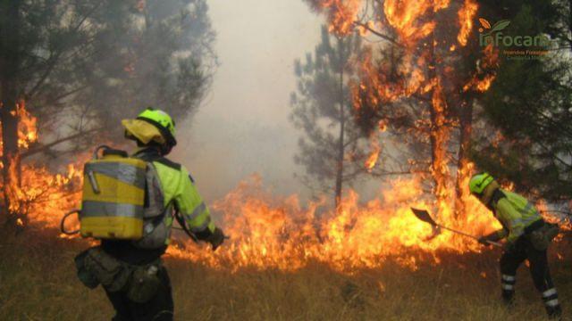 """ALENTA   Riesgo """"alto"""" de incendio en toda la provincia"""