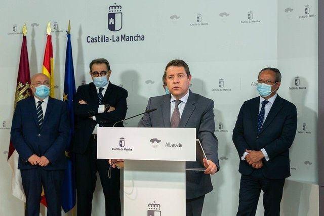 El presidente regional, Emiliano García-Page. - FOTO:D.ESTEBAN GONZALEZ//JCCM / DAVID ESTEBAN