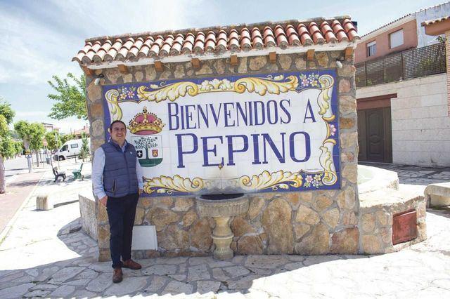 Inocencio Gil, alcalde de Pepino