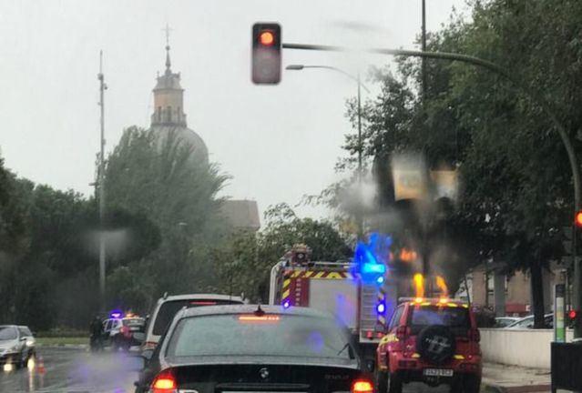 BORRASCA 'ALEX'   22 incidentes por el viento en la provincia de Toledo