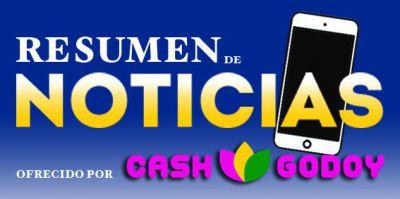 BUENOS DÍAS | Si no conoces las noticias de ayer lunes 5 de octubre, CASH GODOY te trae el resumen informativo