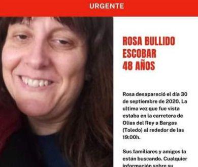 DESAPARECIDA   Piden ayuda para encontrar a Rosa Bullido