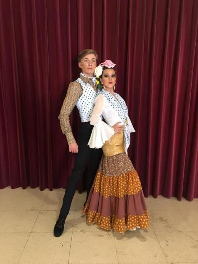 Iker Martín y Patricia Sánchez, terceros en el Campeonato de España y Europa de Baile