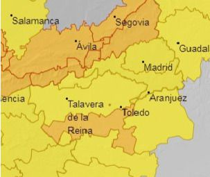 TALAVERA Y COMARCA | En alerta por la borrasca 'Bárbara'