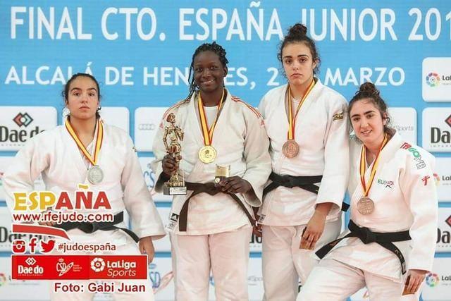Lucía Pérez se vuelve a alzar con el bronce en el Campeonato de España de judo