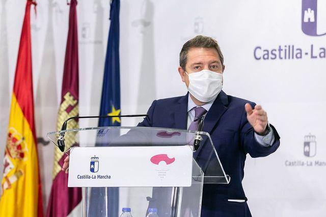 El presidente de C-LM, Emiliano García-Page | Archivo