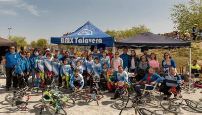 Dos oros, plata y bronce para el Club BMX Talavera en la Copa de Madrid