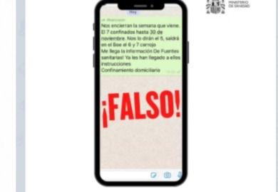 BULO | ¿Nos encierran la próxima semana? Si te llega este Whatsapp no te lo creas