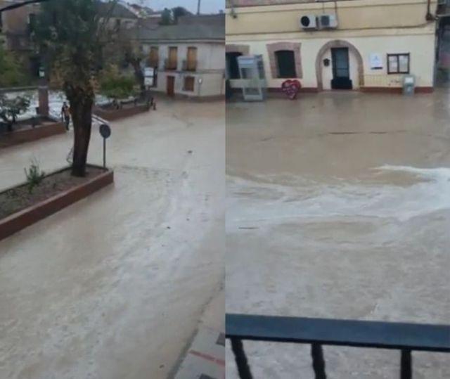 VÍDEO | Llueve y… calles desbordadas en Cebolla