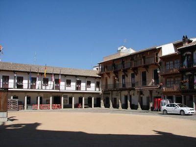 Plaza de la Puebla de Montalbán | Archivo
