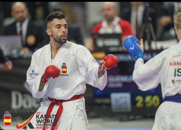 KARATE | El talaverano Raúl Cuerva consigue la medalla de plata en la Liga Nacional