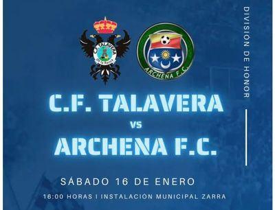FÚTBOL | El CF Talavera Juvenil se impuso 1-0 ante el Archena FC