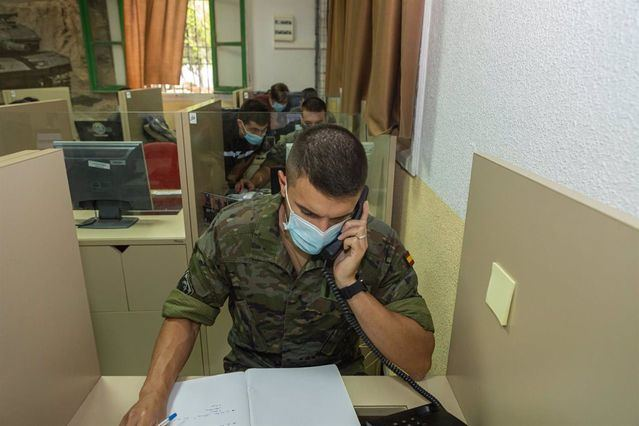 rastreadores militares | Archivo | Europa Press