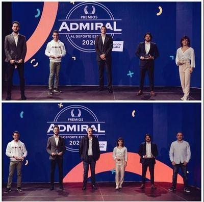 CONSEGUIDO | Los talaveranos Sandra Sánchez y Paco Cubelos ya tienen su Premio Admiral