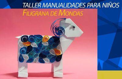 MONDAS TALAVERA | Taller de manualidades online para los más pequeños