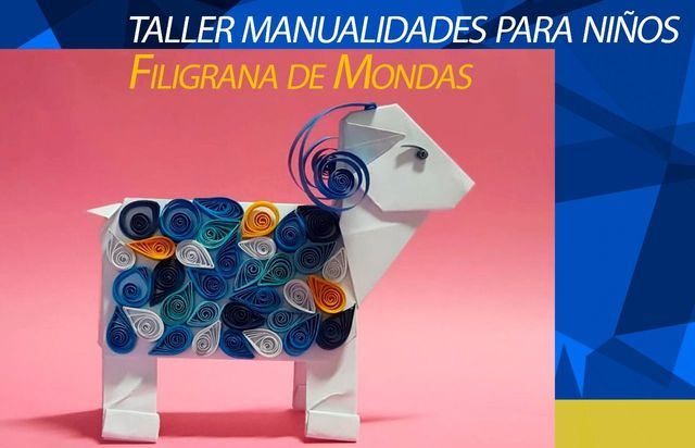 MONDAS TALAVERA   Taller de manualidades online para los más pequeños