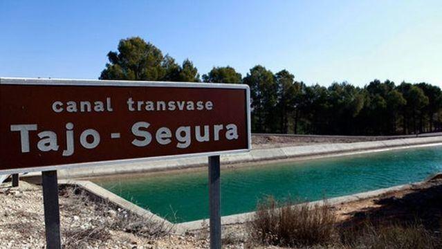 TRASVASE   Toledo en contra de Murcia y Andalucía: