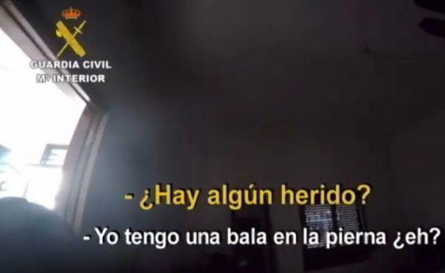 CONDENADO | 22 años de prisión por disparar contra 7 guardias civiles