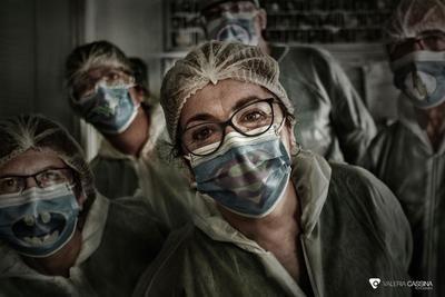Personal sanitario en el hospital de Talavera / Foto: valeria Cassina