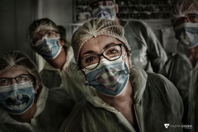 Personal sanitario del hospital de Talavera | Foto: Valeria Cassina
